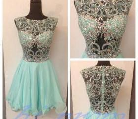 Mint Homecoming Dres..