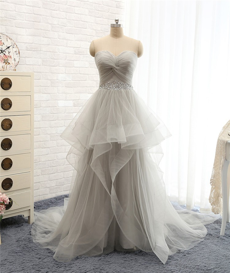 lovely wedding dresses long wedding gown tulle wedding