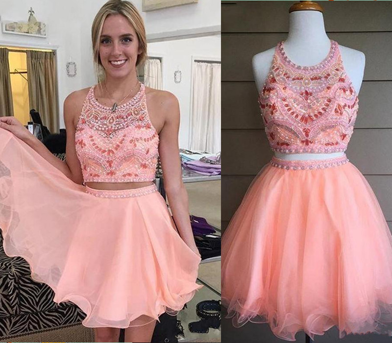 short to long dresses 2 piece