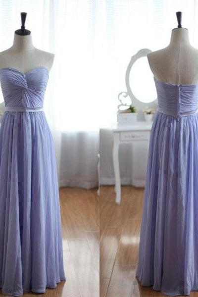 Bridesmaid Dress,Chiffon Bridesmaid Dress,Cheap Bridesmaid Dress, Long Bridesmaid Dress, 2016 Simple Bridesmaid Dresses
