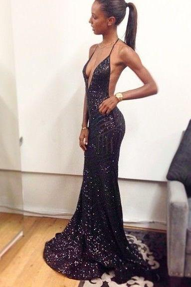 Sequin Prom Dress on Luulla