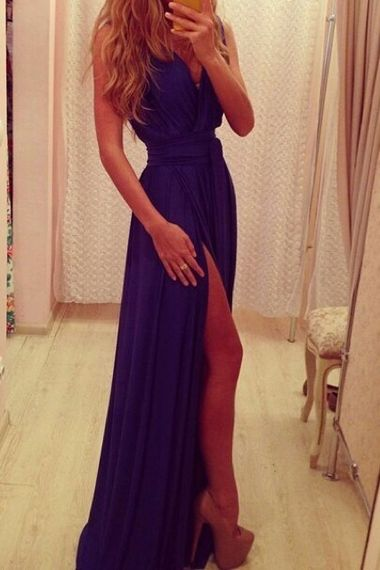 Charming Prom Dress,Chiffon Prom Dress,Long Prom Dresses,Evening Gown,Formal Dress