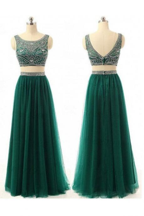 Prom Dress,New Prom Gown,2 pieces Prom Dresses,Evening Gowns,2 piece Evening Gown,Prom Gowns