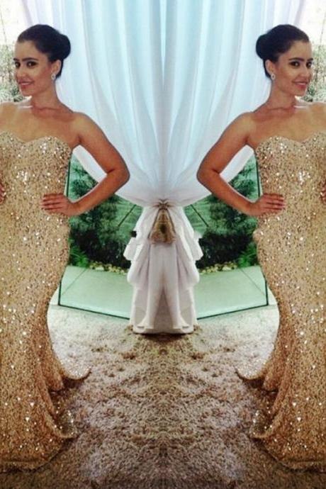 Sequin Prom Dresses,Modest Prom Gown,Cheap Prom Gowns,Sequined Evening Dress,Evening Gowns,Sexy Sequined Party Gowns