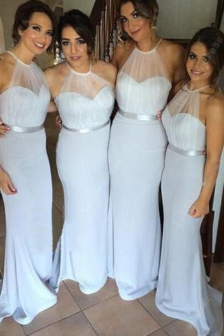 bridesmaid dress, dusty blue bridesmaid dress, long bridesmaid dress, bridesmaid dresses, long prom dress
