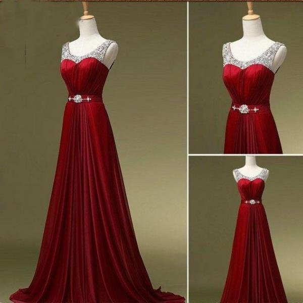 Burgundy Prom Dresses,Wine Red Evening Gowns,Sexy Formal Dresses,Burgundy Prom Dresses 2016,New Fashion Evening Gown,Satin Evening Dress