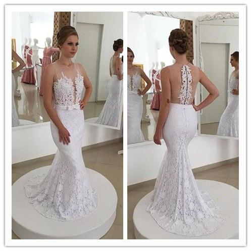 White Prom Dresses,Charming Evening Dress,White Prom Gowns,Lace Prom Dresses,2016 New Prom Gowns,White Evening Gown,Backless Party Dresses