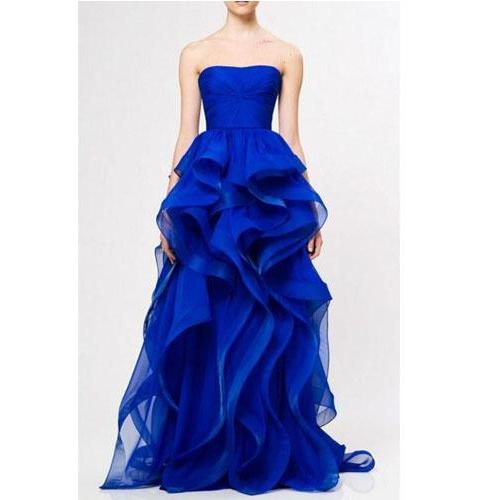 Prom Gown,Royal Blue Prom Dresses,Royal Blue Evening Gowns,Ball Gown Party Dresses,Evening Gowns,Formal Dress For Teen